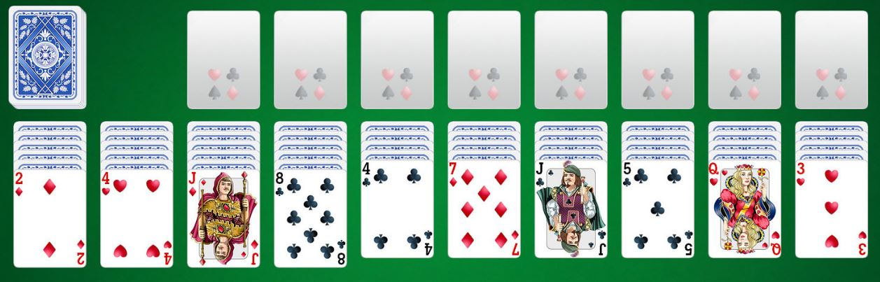 Solitare karty zdarma