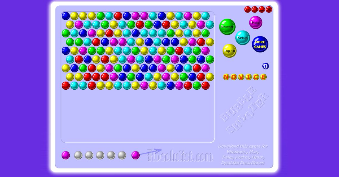 bubliny hry bubble shooter